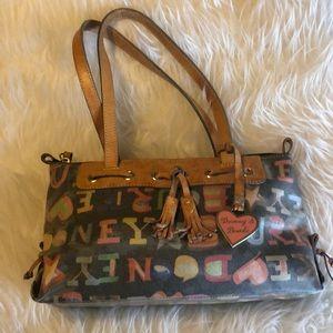 Dooney & Bourke graphic handbag